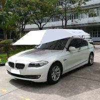一阳创新4.0x2.2米手动款汽车遮阳伞全自动移动车篷智能遥控车折叠车棚车顶夏季