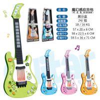 新款感应吉他多功能电子吉他儿童音乐乐器玩具厂家直销