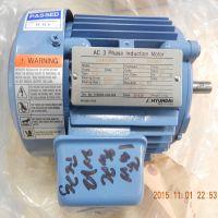 韩国现代电机 HYUNDAI HL071AL252E 0.4KW 4P 220/380V 价格低