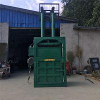 延庆30吨单杠废铁打包机 普航回收站废料立式压块机 半自动加厚钢板液压机