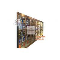 加工定制各类不锈钢酒柜 不锈钢恒温酒柜 KTV酒柜