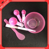 美容工具套装 面膜碗调膜棒 软毛化妆刷2件套托家用勺四模具水疗