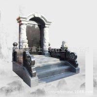 江西鹰潭墓碑 福建墓碑制造厂供应高档山西黑芝麻黑墓碑 可定制