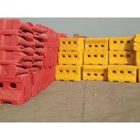苏州塑料注水围挡批发、市政工程道路施工安全隔离防撞桶水马围挡防撞桶。
