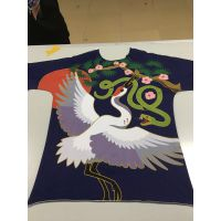 个性班服团体服公司团建服装印花定制纯棉T恤卫衣印花加工厂