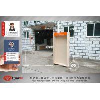 新款木纹联通配件柜定做靠墙配件展示柜批发厂家
