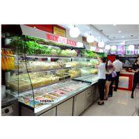 张亮麻辣烫烧烤店冷藏冷冻保鲜串串点菜柜冰柜商用展示柜玻璃门卧式