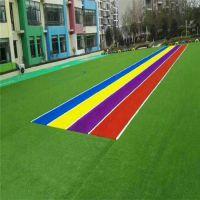 工程绿化草坪 人造塑料地毯 仿真草坪刷胶