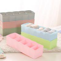 P馨友内衣收纳盒 五格塑料整理盒抽屉式袜子内裤收纳多格储物盒