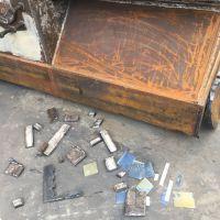 废铁汽车大梁液压切断机 400吨鳄鱼剪切机工作视频山东金亿定做液压机械设备