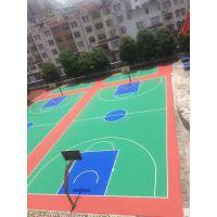 运动球场涂料施工丙烯酸篮球场 球场地坪材料生产厂家