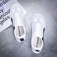 欢跃帆布鞋男韩版2018夏季男式低帮潮流板鞋休闲小白鞋s1110