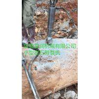 静态拆除混凝土设备液压劈裂机破碎设备