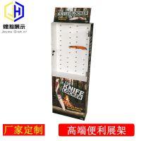 刀展示架安迪板雪弗板PVC发泡板厨具展架东莞工厂定制