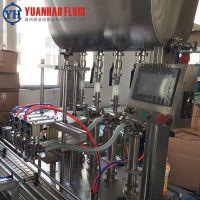 源浩三合一全自动定量灌装机 果汁啤酒碳酸饮料灌装机