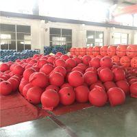柏泰型号齐全海上警示浮球50滚塑浮漂价格