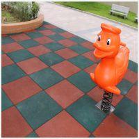 深圳小区运动场地橡胶地板批发 儿童健身区防滑地砖购买 2.5厚颗粒塑料软垫销量快