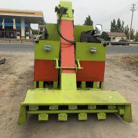 一辆专心处理粪便的清粪车 钢板结构的柴油装粪车 中泰机械