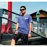 河北大量清仓夏季外贸男装T恤 库存低价短袖服装 杂款T恤特价工厂尾货处理