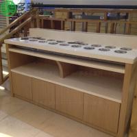 深圳多多乐 简约现代餐厅自助调料台 大理石火锅调料台 长方形圆形多形状可定做