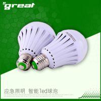 格瑞特 LED停电家用应急灯 E27LED应急球泡停电自由开关应急灯泡
