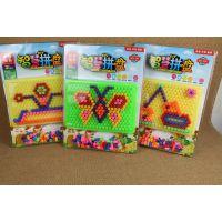 创意蘑菇钉玩具 拼插板组合 幼儿园儿童巧巧钉拼图3-7岁玩具批发