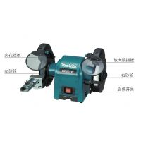 makita牧田砂轮机GB602家用多功能电动磨刀机台式抛光机牧田电动工具 GB602W