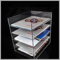 批发办公用品资料架文具收纳架 定制多层桌面文具收纳架 资料架