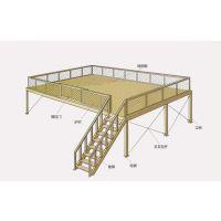 物流钢结构平台搭建