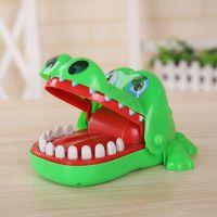 整蛊咬牙鳄鱼咬手指的大嘴巴鳄鱼趣味心理咬牙道具儿童新奇特玩具