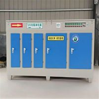 UV光氧催化净化器厂家除烟除味环评设备工业废气处理成套净化器5000风量