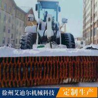 装载机扫雪机-扫雪冬季路面除雪设备除雪扫地机价格