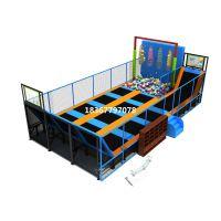 厂家直销儿童游乐设备淘气堡 超级蹦床 大蹦床免费设计 上门安装