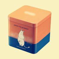 马口铁正方形茶叶包装罐