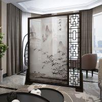 新现代简约不锈钢屏风定制 客厅金属家具 酒店不锈钢屏风 厂家供应
