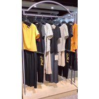 卡莱诗汉口北国际交易中心外贸品牌折扣女装品牌折扣店 短袖维雪儿连衣裙批发