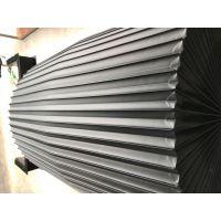 汉科防护 风琴防护罩 加工中心导轨风琴式护罩 盔甲 卷帘 钢罩