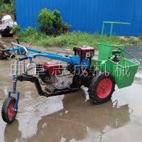 畅销新款微型玉米秸秆收获机柴油动力收割机自走式玉米收割秸秆粉碎一体机