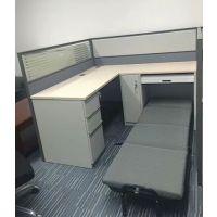 办公屏风配午休折叠床卡位家具