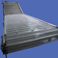 吉林网带输送机 批量加工食品专用输送机