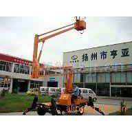 供应亿翔升降机 柴油启动升降机 拖车式升降台