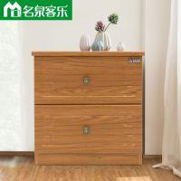81002A简约现代床头柜大连板式家具工厂直销