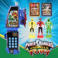 变形手机玩具套装超人英雄战队卡通动漫卡片益智早教灯光玩具批发