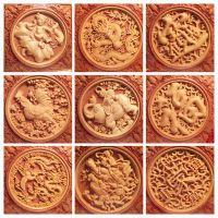 云缘批发 黄杨木雕刻中国节挂件 居家雕刻挂饰礼品喜庆送礼