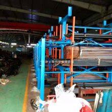 江苏大型钢板存放架 抽屉式货架结构 轨道抽拉方便