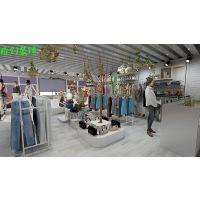 合肥服装店装修|女装店装修设计|各种颜色搭配,使店面 色彩斑斓
