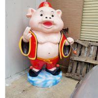 定制 定制新年吉祥物财神商场公司摆件玻璃钢春节装饰大财神创意雕塑厂