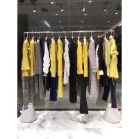 天津依目了然品牌女装折扣店货源特价批发专柜正品剪标女装尾货