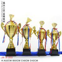 吉林省羽毛球俱乐部奖杯定做 长春市羽毛球联赛颁奖奖杯