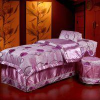 美容床罩四件套 批发定做 高档全棉纯棉美容院美体按摩 熏蒸床罩